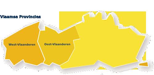 oost en west vlaanderen