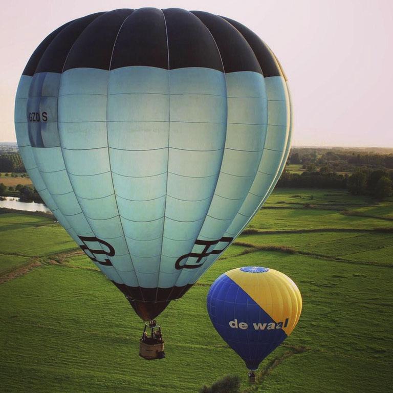 luchtballonvaart De Waal