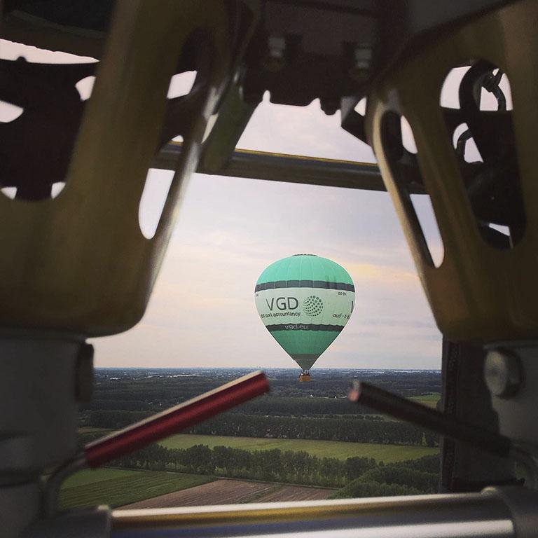 luchtballonvaart vlaanderen