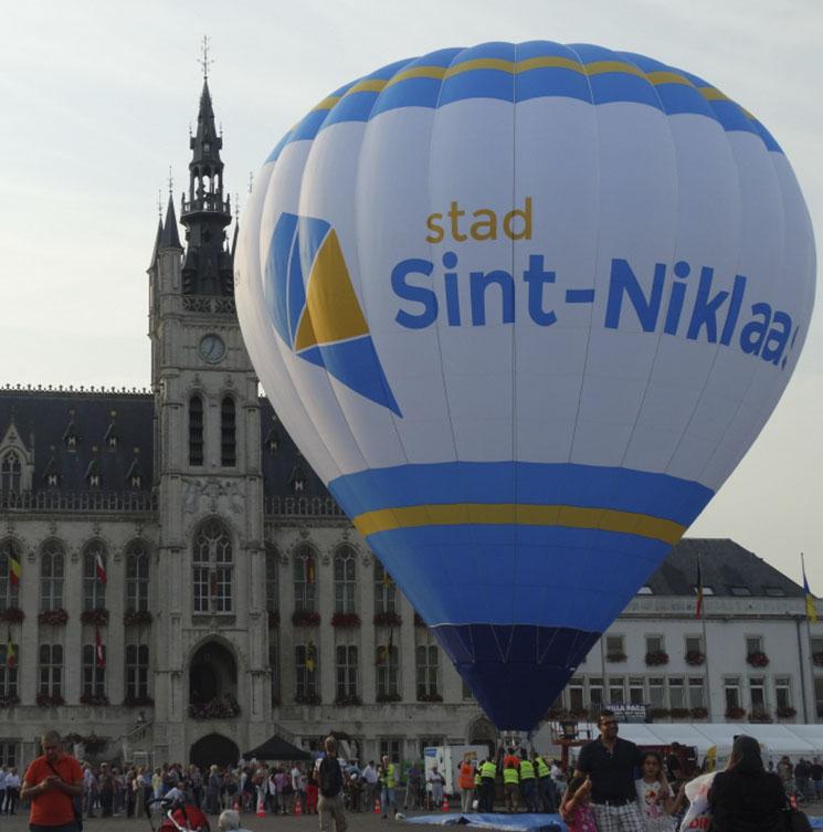 ballonvlucht stadsballon
