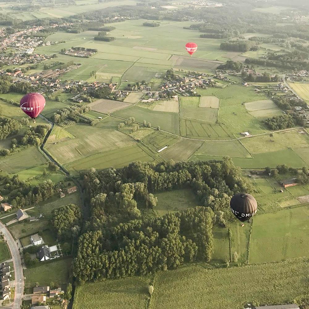 ballonvaart limburg met de flying dutchman ballooning