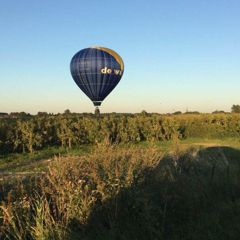 the flying dutchman ballooning ballonvaart Oost- Vlaanderen